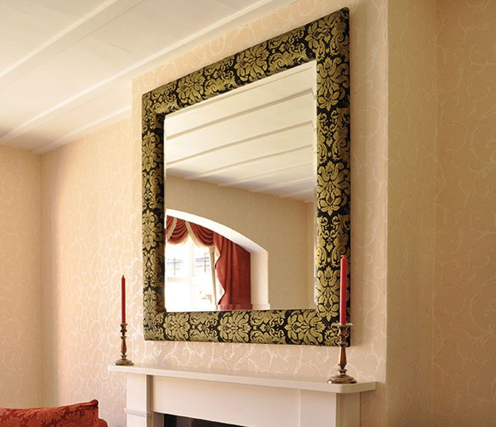 Leather Mirror Frames